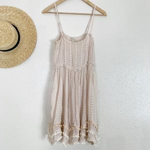 FP creme boho dress.